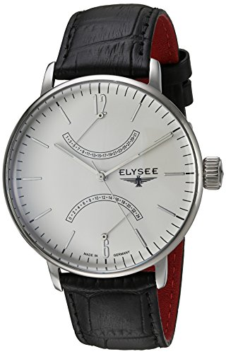 ELYSEE Men's 13270 Classic-Edition Analog Display Quartz Black Watch