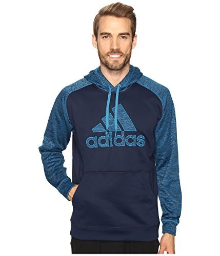 adidas Men's Team Issue Fleece Logo Pullover Hoodie