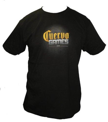 jose-cuervo-cuervo-games-2011-logo-on-black-shirt-mens-size-large