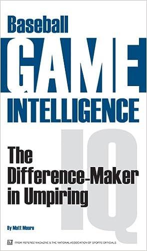 baseball game intelligence the difference maker in umpiring matt