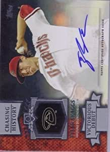 2013 Topps Chasing History Autograph #TS Tyler Skaggs RC Rookie AUTO