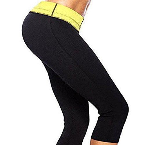 FUT Women Hot Neoprene Body Shaper Thermo Fat Burner Sport Yoga Sauna Slimming Pants