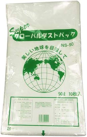 ダストパック(ゴミ袋) NS-90 10枚入 0.045X900X1000 容量:90L/厚0.04