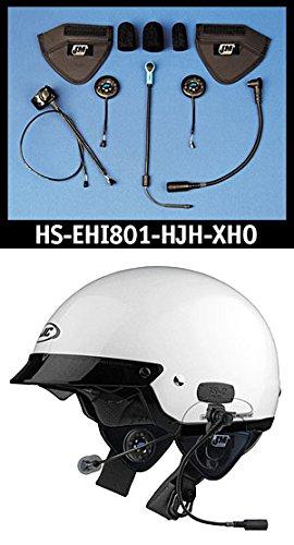 (J&M Elite 801 Series Helmet Headset for most HJC/Harley shorty-style (5/8) Helmets)