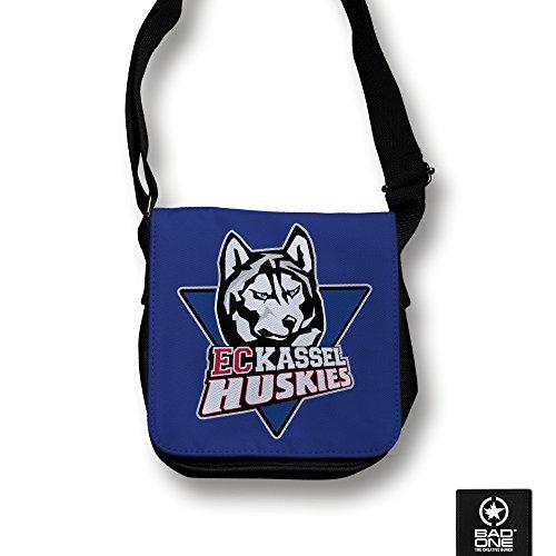 Kassel Huskies Logo Tasche klein, schwarz