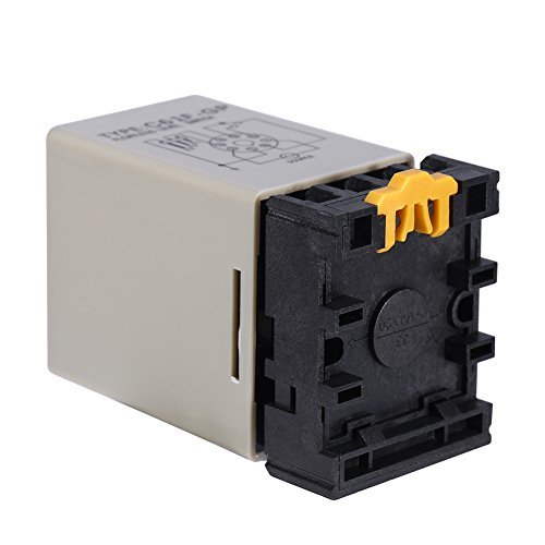 Akozon C61F-GP AC220V 50/60HZ Liquid Floatless Level Switch Controller with Base by Akozon (Image #8)