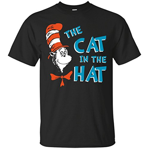 The cat in the hat - read across america day T-Shirt (Cat In The Hat T Shirts Adults)