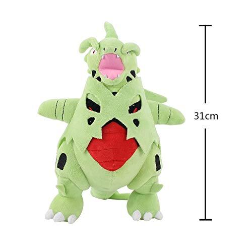 HOLLUK 14-35Cm Lapras Tyranitar Zygarde Genesect Dragon Jangmo-O Lycanroc Poipole Solgaleo Vaporeon Zeraora Soft Stuffed Plush Toy Doll -Multicolor Complete Series Merchandise