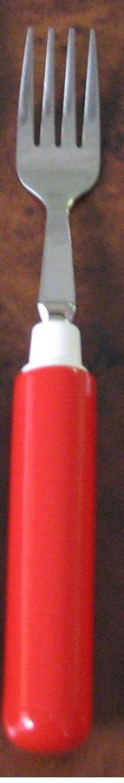 Kinsman Comfort Grip Fork, Red