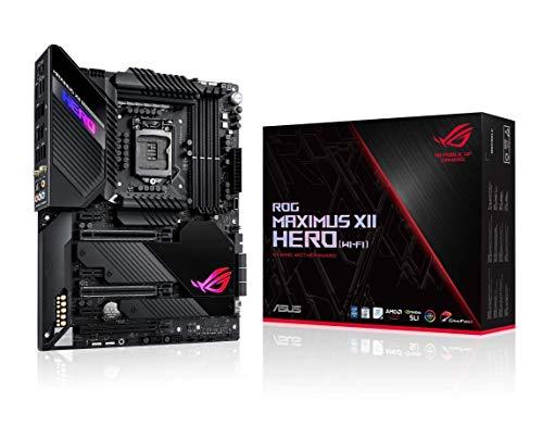 ASUS ROG Maximus XII Hero Z490 (WiFi 6) LGA 1200 (Intel 10th Gen) ATX Gaming Motherboard (14+2 Power Stages, DDR4 4800+, 5Gbps LAN, Intel LAN, Bluetooth v5.1, Triple M.2, Aura Sync) (Renewed)