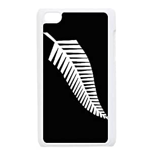 iPod Touch 4 Case White Newzealand Rugby Logo ipjk