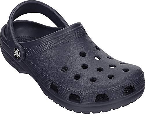 Crocs Unisex-Kid's Classic Clog, Navy, 5 M US Big Kid
