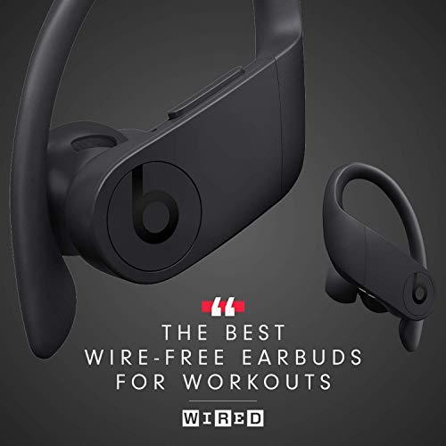 Powerbeats Pro Wireless Earphones - Apple H1 Headphone Chip, Class 1 Bluetooth, 9 Hours Of Listening Time, Sweat Resistant Earbuds - Black