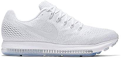 Nike Womens Zoom All Out Low Low Top Lace Up Running Sneaker (7 W US, White/Pure Platinum)