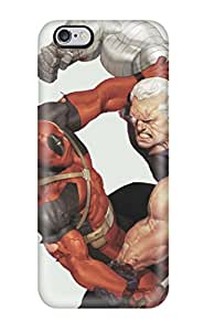New Fashionable Ernest Burke XddxZGL2628ijLLt Cover Case Specially Made For Iphone 6 Plus(deadpool Vs Cable)