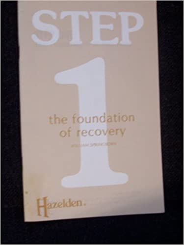 Printables Step One Worksheet Aa Hazelden step one aa the foundation of recovery hazelden classic pamphlets revised edition