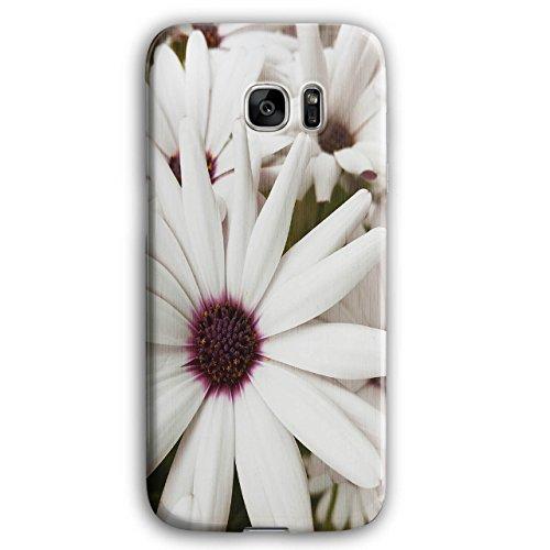 Camomile Blossom Flower Beauty NEW Black 3D Samsung Galaxy S7 Edge Case | Wellcoda