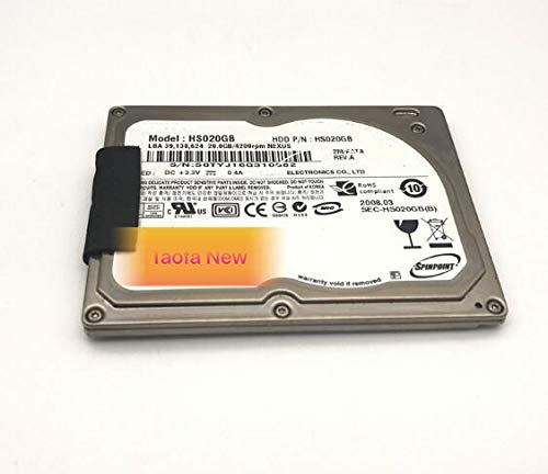 Calvas Brand new 1.8inch zif ce hs020gb 20GB hard disk drive for laptop ipod video classic replace hs030gb hs04thb hs06thb - Disk Hard Ipod Classic