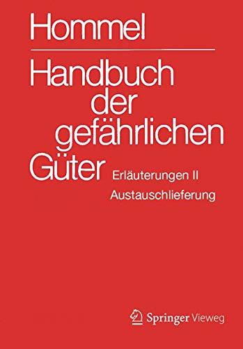 Handbuch der gefährlichen Güter. Erläuterungen II. Austauschlieferung, Dezember 2018: Gewässerverunreinigung