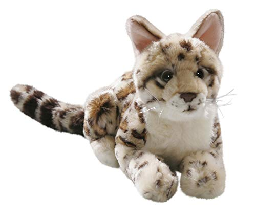 Amazon.com: Ocelot 11 inches, 17 inches incl. tail, 28cm/44cm, Plush Toy, Soft Toy, Stuffed Animal: Toys & Games