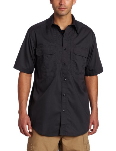 5.11 Tactical Taclite Pro Short-Sleeve Shirt,Charcoal,X-Large