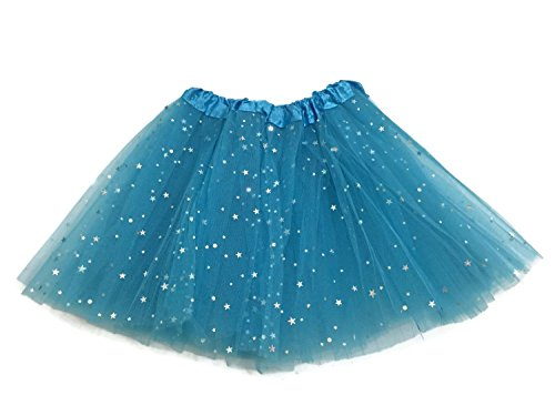 Best The With Costumes Stars Dancing (Rush Dance Ballerina Girls Dress-Up Sparkling Stars Sequins Costume Recital Tutu (Kids (2-8 Years Old),)