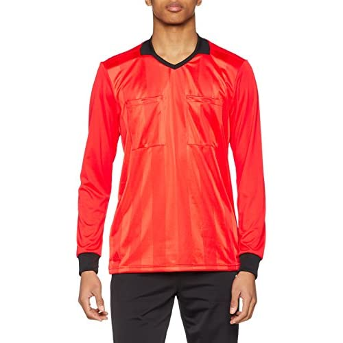 chollos oferta descuentos barato adidas REF18 JSY LS Long Sleeved t Shirt Hombre Bright Red 2XL
