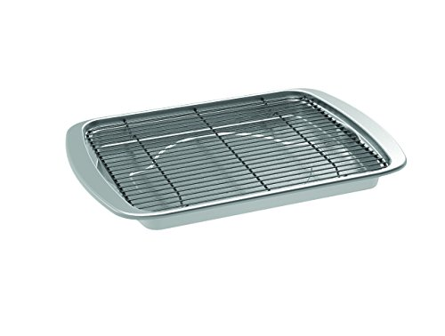 Nordic Ware 45027AMZ Oven Bacon Pan, One Size, Stainless Steel