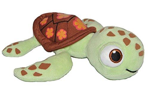 Plüschtier Schildkröte Crush - Findet Nemo 22 cm Plüsch - Meeresschildkröte Stoffpuppe Jungen Mädchen Samt