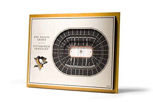 (YouTheFan NHL Pittsburgh Penguins 5-Layer StadiumViews 3D Wall Art - PPG Paints Arena)