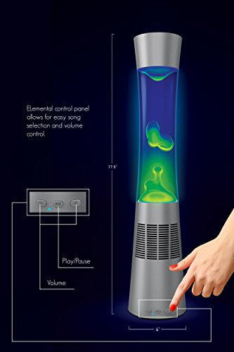Lava Lamp Bluetooth Speaker Best Amazon Sharper Image Motion Lamp With Bluetooth Speaker 6060