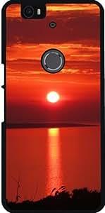 Funda para Google Nexus 6P (Huawei) - Puesta Del Sol Con Colores Maravillosos by WonderfulDreamPicture