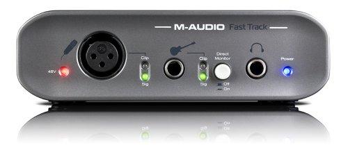 [해외] [정규품] M-AUDIO ProTools M-Powered동봉의 오디오 인터페이스 Fast Track FASTTRACK