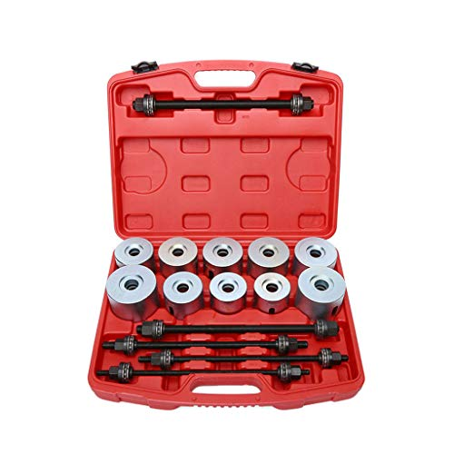 Sacow 27pc Universal Press and Pull Sleeve Kit Bush Bearing Removal Insertion Tool Set (Bush Universal Collection)
