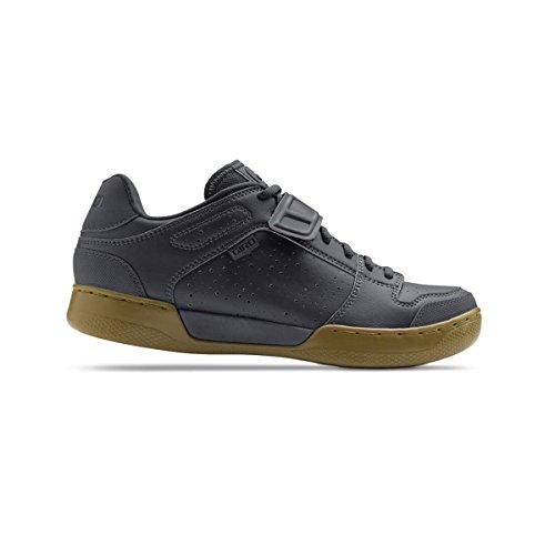 Giro GF21180 Mens Chamber Dirt Bike Shoes, Black/Gum - 45
