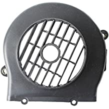 Black Plastic Engine Cooling Fan Cover Cap Scooter Moped Gas Scooter 50 cc 50cc