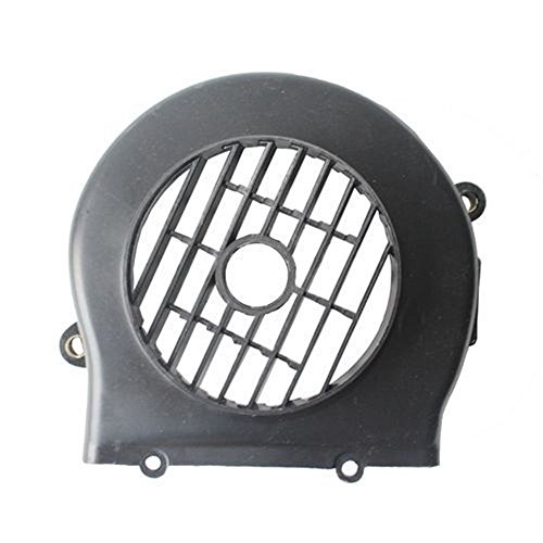 Cc Electric Scooter 50 (Black Plastic Engine Cooling Fan Cover Cap Scooter Moped Gas Scooter 50 cc 50cc)