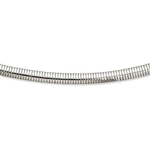 6mm omega necklace - 8