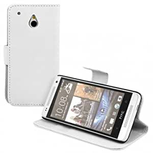Retro Flip Wallet Protective Leather Stand Case For HTC One Mini M4 --- Color:Black