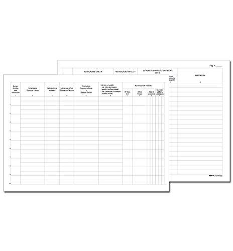 Edipro Registro Cronologico Atti Notif. E2154
