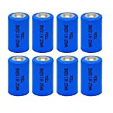 14250 3.6v Battery Lithium-SOCL2 Capacity 1200mah Count :Pcs (8)