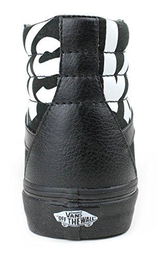 Skåpbilar Sk8-hi Reissue Mode Sneakers Svart / Sann Vit Storlek 11,5 Män / 13 Kvinnor