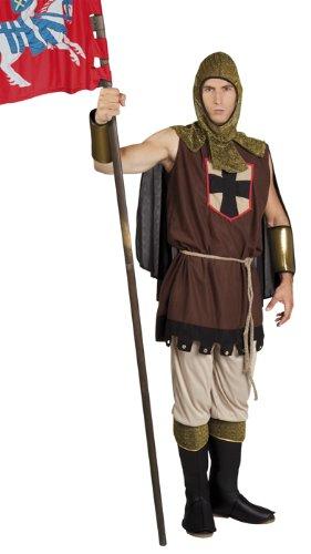 Disfraz de caballero medieval para hombre traje disfraz de ...