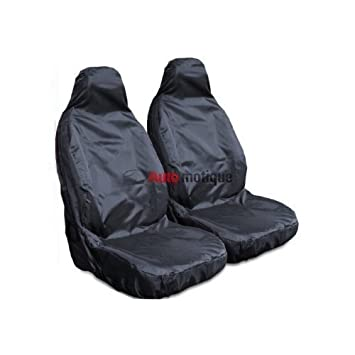 Ford Transit T280 T300 T350 Heavy Duty Leather Look Van Seat Cover Protectors