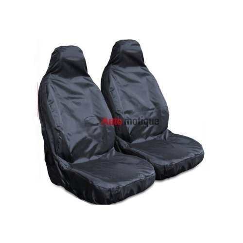 HEAVY DUTY BLACK WATERPROOF SEAT COVERS 1-1