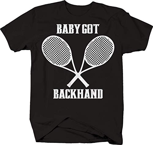 Backhand Truck (M22 Baby Got Backhand Tennis Raquet T-Shirt - 5XL)
