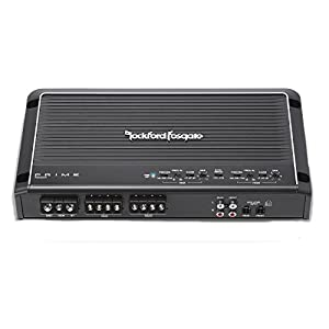 "Rockford Fosgate R300X4 Prime 400W 4-CH Amplifier + (4) P1683 6x8"" 3 Way Speaker + Amp Kit"