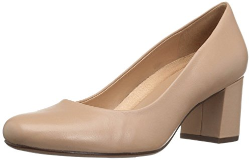 Naturalizer Women's Whitney Dress Pump, Taupe, 5 M US (Suede Shoes Naturalizer)