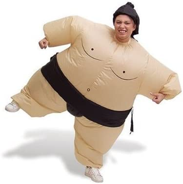 Disfraz de Luchador de sumo hinchable de Fiesta de revestimiento ...