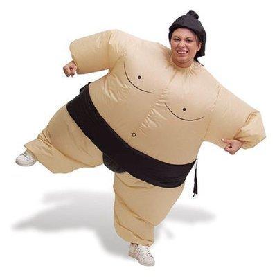 Disfraz de Luchador de sumo hinchable de Fiesta de ...